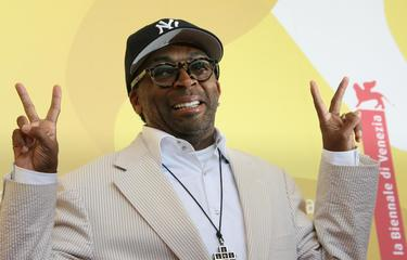 Spike Lee at the Lido in Venice for the photocall of &quot;When the Levees Broke: A Requiem in Four Acts&quot;.